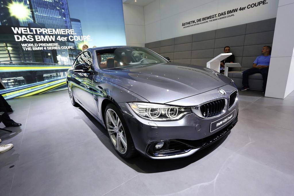IAA 2013: BMW kommt mit Nummer Vier