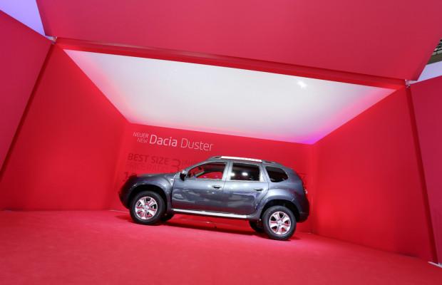 IAA 2013: Dacias Wühlmaus bekommt neues Gesicht