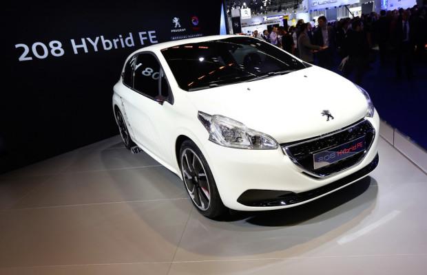 IAA 2013: Die Franzosen gehen mit Hybrid unter zwei Liter