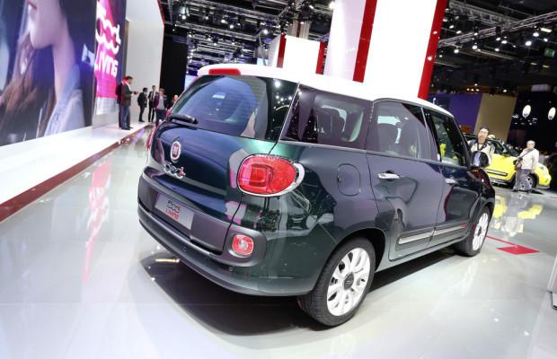IAA 2013: Fiat 500L macht mit 21 Zentimetern Platz für sieben