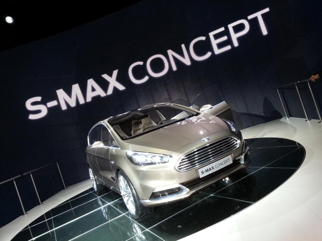 IAA 2013: Ford S-Max Concept - Familien-Van fürs Sportler-Herz