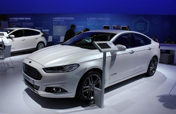 IAA 2013: Ford startet mit Hybriden in Deutschland