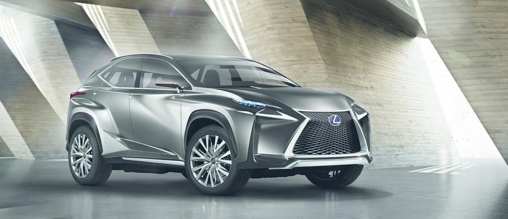 IAA 2013: Lexus zeigt kantiges SUV-Konzept
