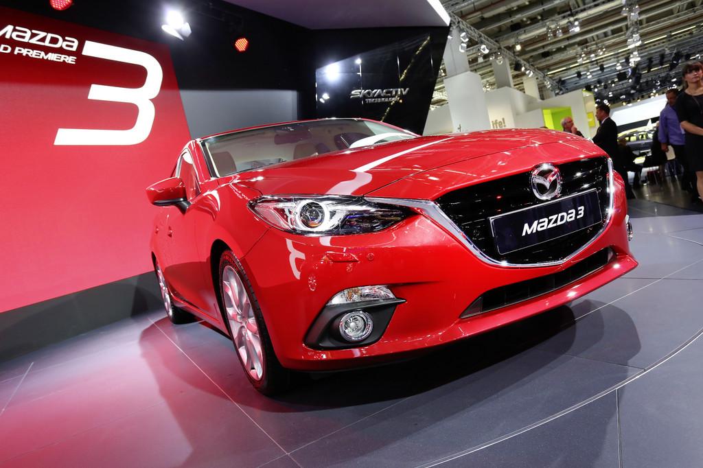 IAA 2013: Mazdas Antwort auf den Golf