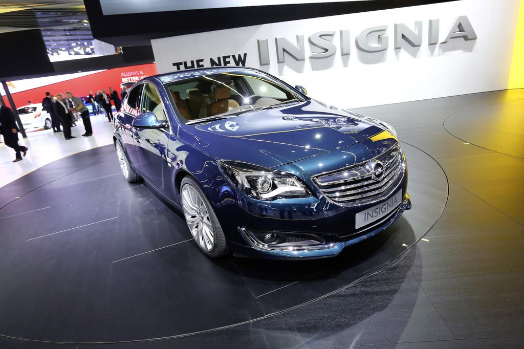 IAA 2013: Opel Insignia frisch im Wind