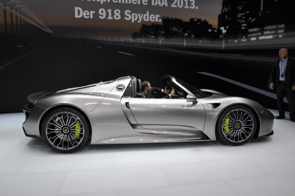 IAA 2013: Porsche-Gene für die Zukunft - Der 918 Spyder