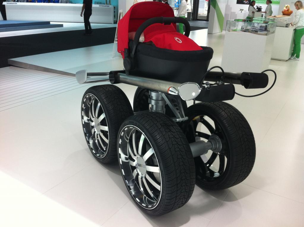 IAA 2013: Skodas Kinderwagen - Früh übt sich