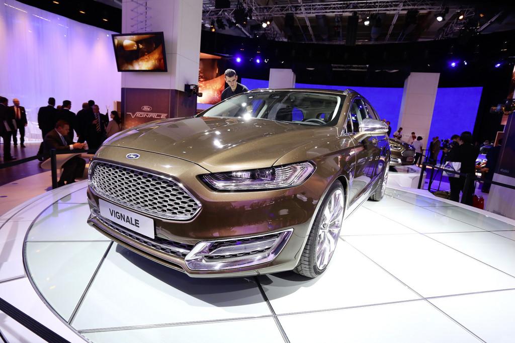 IAA 2013: Vignale hebt den Ford Mondeo eine Stufe höher