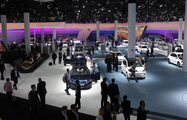 IAA-Eröffnung: Merkel ist stolz auf Autoindustrie