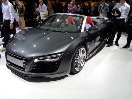 IAA Gewinnspiel Teil 4 - Heute: Audi R8 Coupe V10