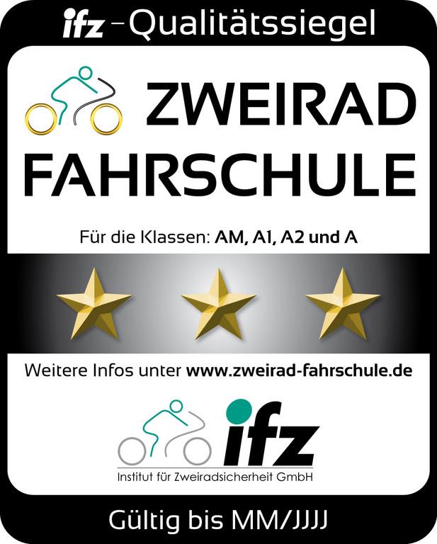 IfZ vergibt Qualitätssiegel für gute Motorradausbildung