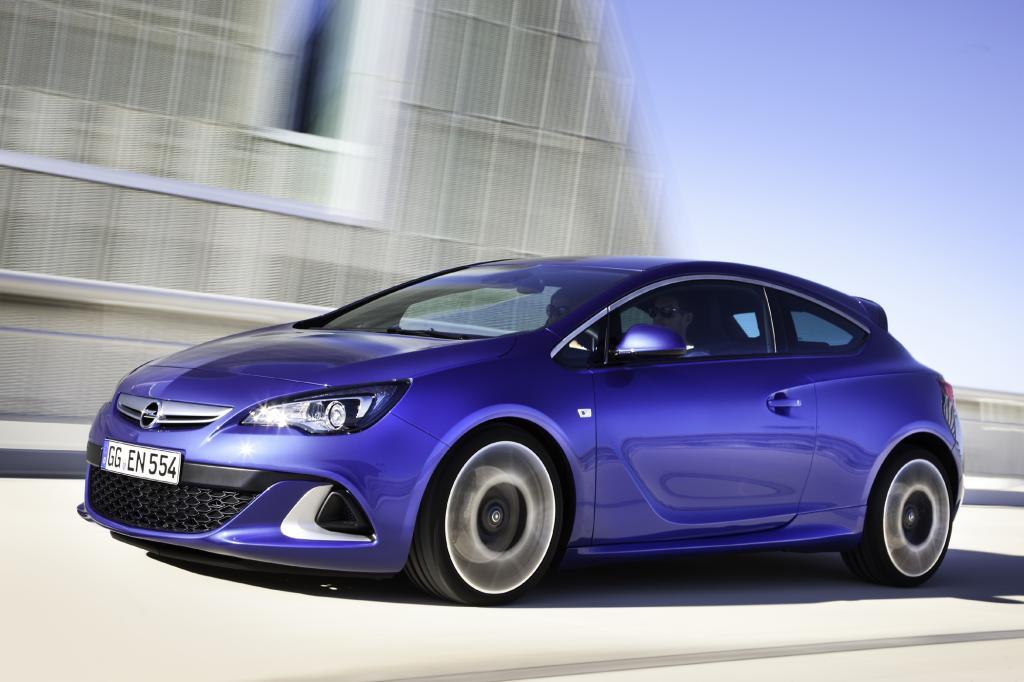 Immerhin 280 PS mobilisiert der Opel Astra OPC
