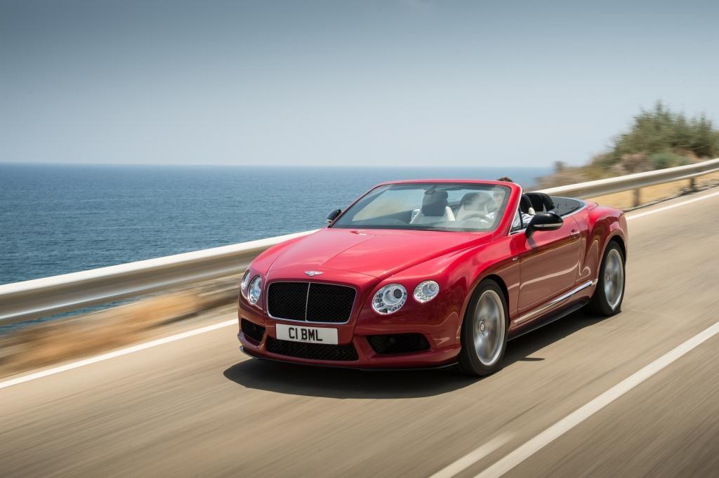 In einer Sportversion legt Bentley zum neuen Jahr die V8-Variante des Continental GT auf, der V8S hat in Frankfurt Premiere.