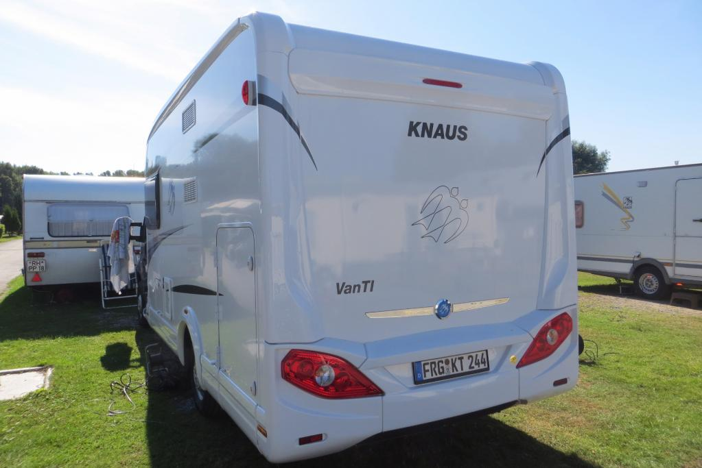 Knaus Van TI 600 MG: Geräumiger Zweischläfer