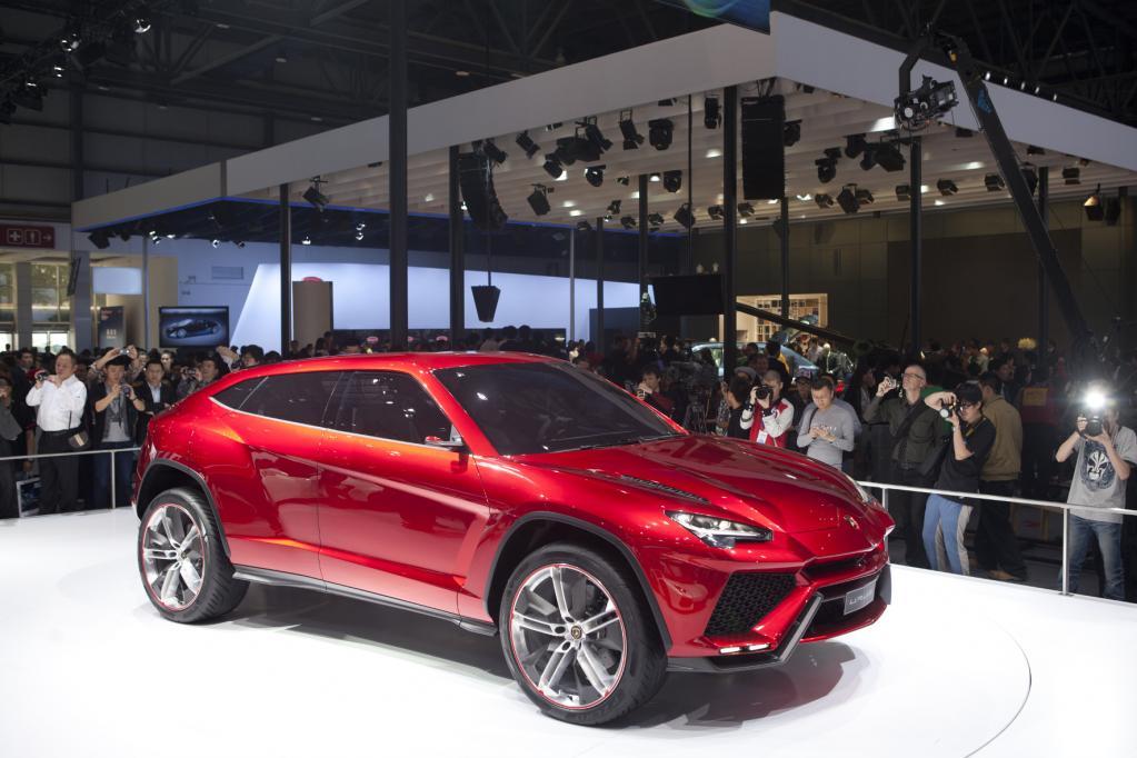 Lamborghini: SUV vor der Umsetzung