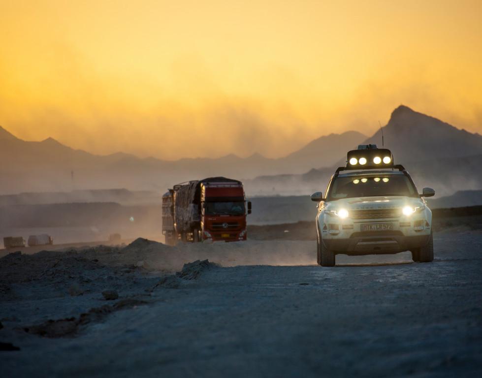 Land Rover Experience Tour 2013: Auf dem Dach der Welt