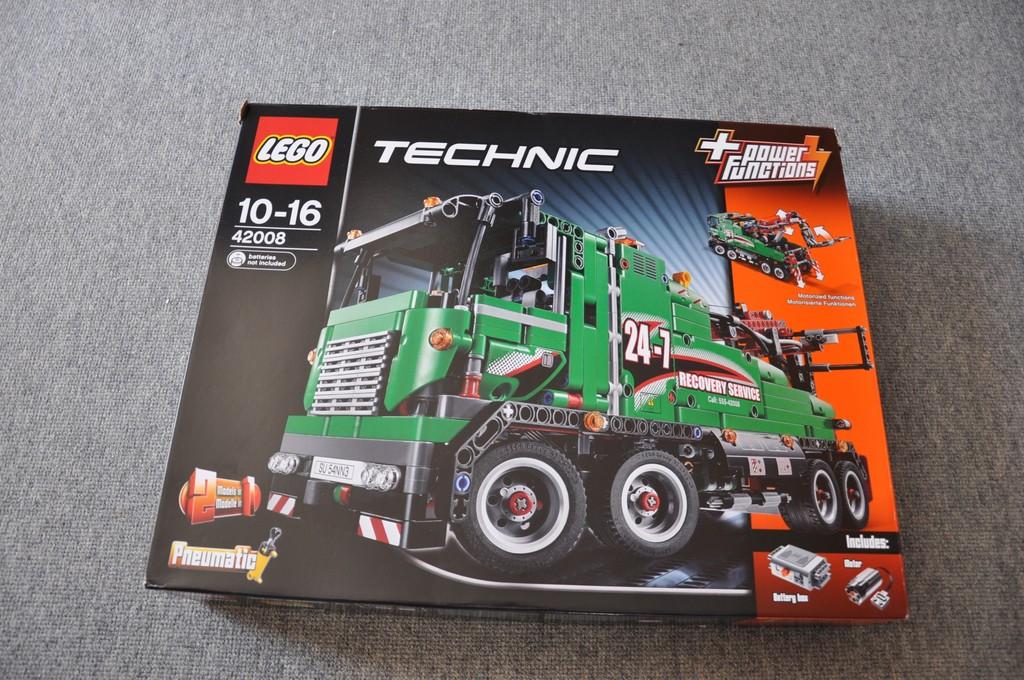 Lego-Technic: In knapp drei Stunden zum Berge-Lkw