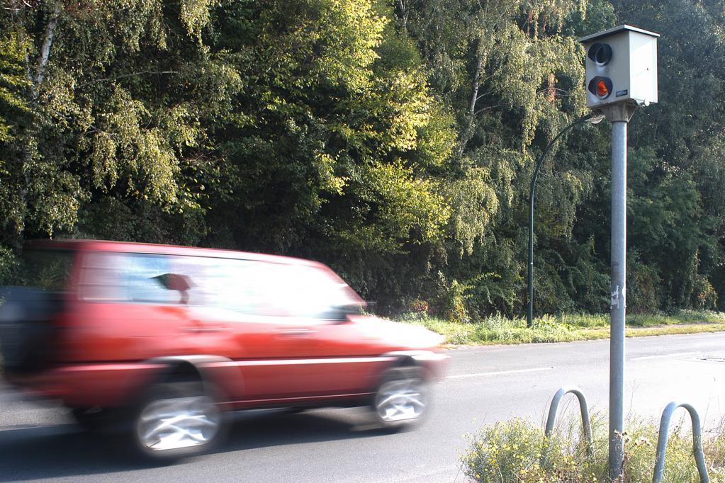 Lieber bremsen als zahlen: Angekündigte Radarkontrollen