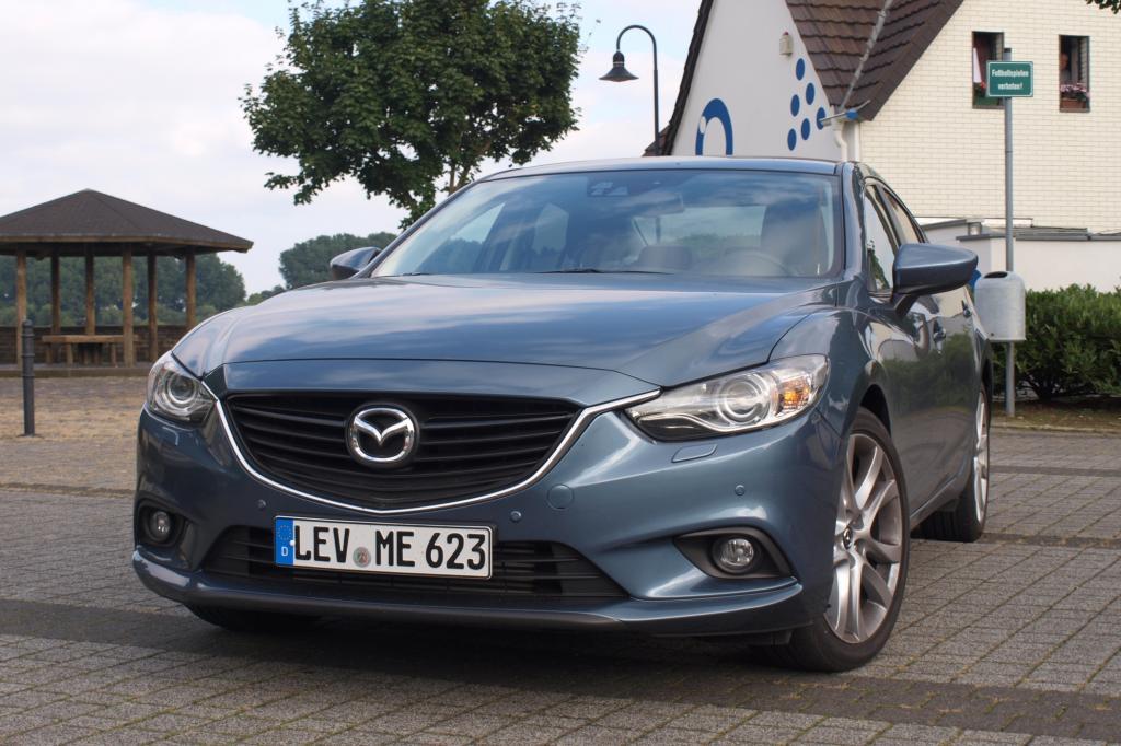 Mazda hat dem 6er ein besonders dynamisches Kleid verpasst