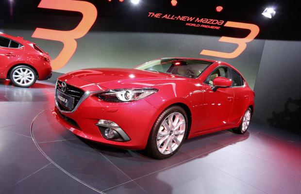 Mazdas Europageschäft zog um 31,1 Prozent an