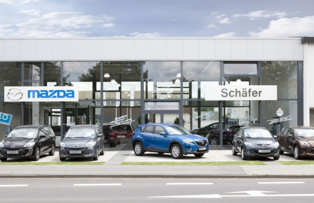 Mazdas Neuwagen-Umsatz steigt um mehr als die Hälfte