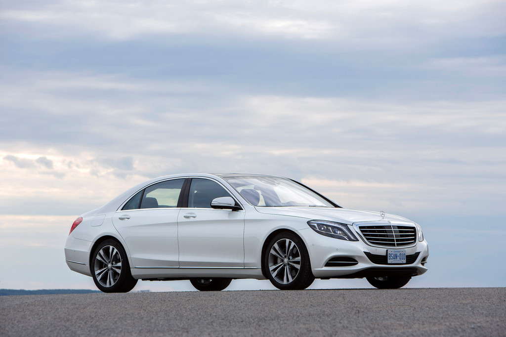 Mercedes-Benz S-Klasse erhält Umweltzertifikat