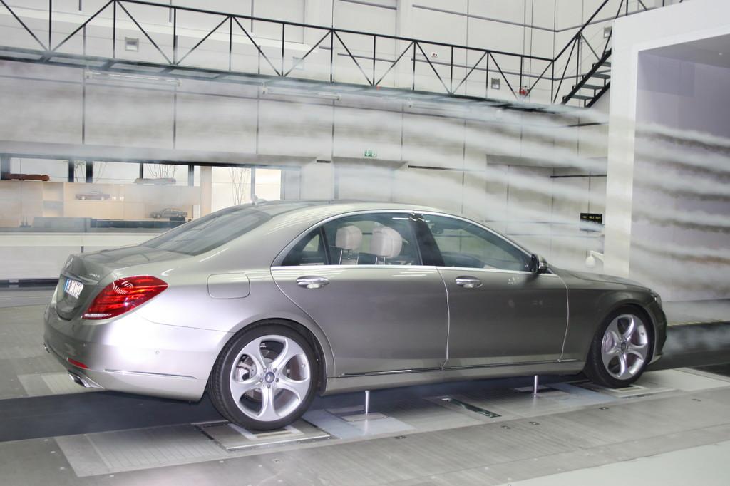 Mercedes-Benz hat modernsten Aeroakustikkanal: Widerstand zwecklos