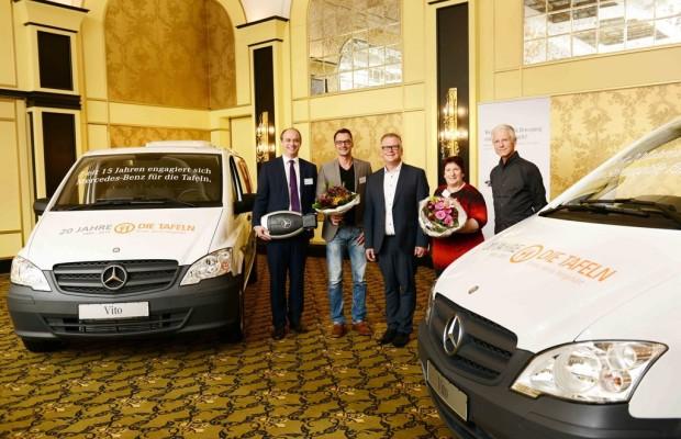 Mercedes-Benz stiftet Vito für Tafelgeschichten