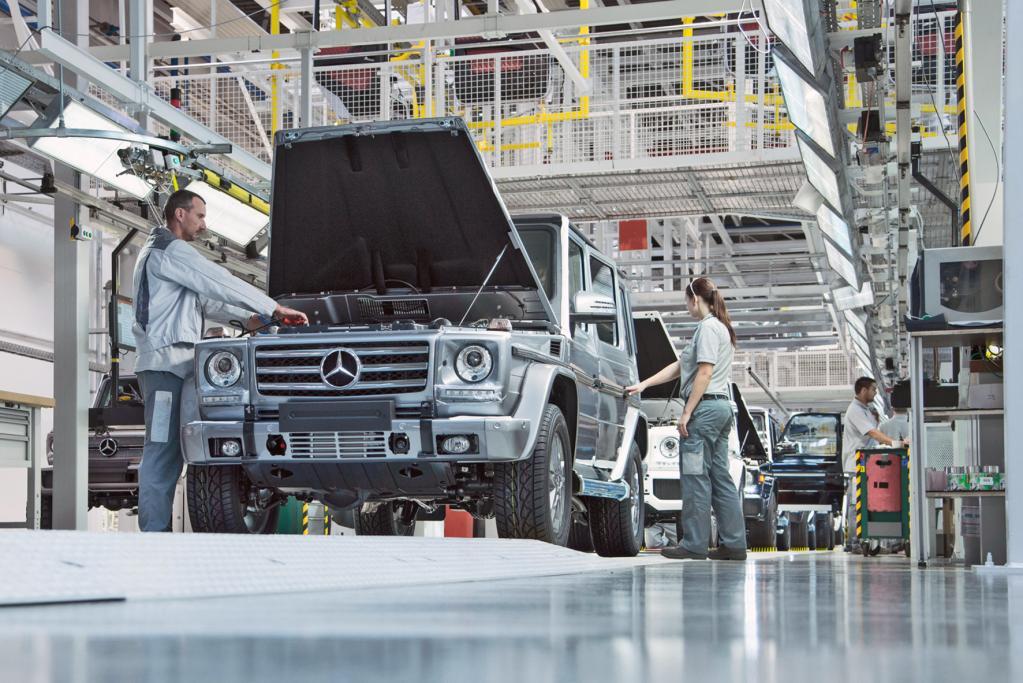 Mercedes G-Klasse: Handarbeit im Zwei-Schicht-Betrieb