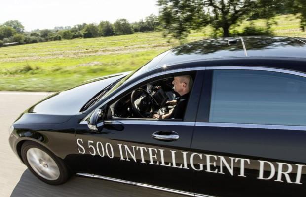 Mercedes S 500 Intelligent Drive: Fahren ohne Fahrer