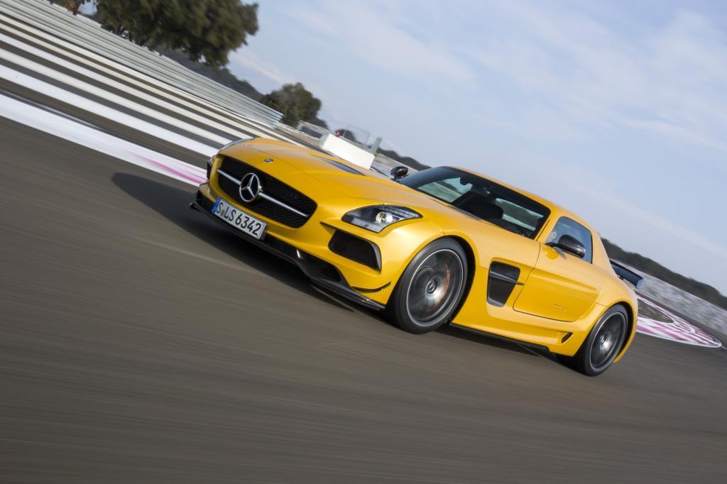 Mercedes SLS AMG - Sportler vor der Rente