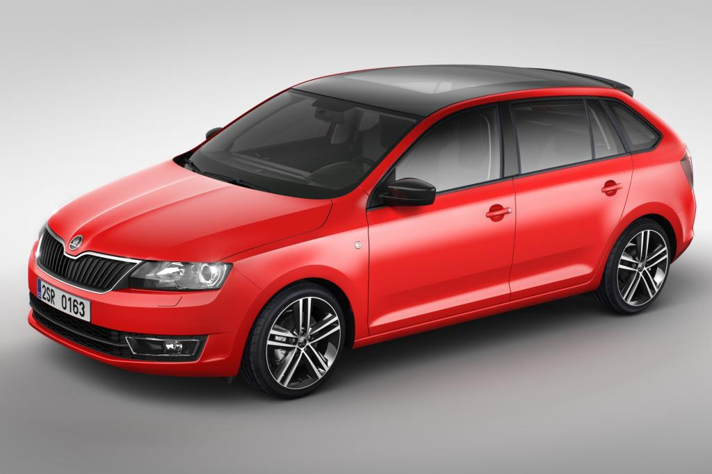 Mit dem Rapid Spaceback tritt Skoda erstmals direkt gegen den VW Golf an