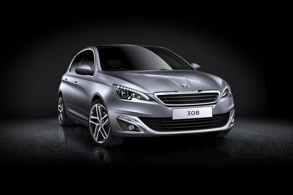 Mit elegantem Design und sparsamen Motoren nimmt der neue Peugeot 308 den VW Golf ins Visier