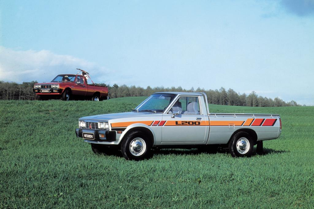 Mitsubishi L200, internationale Version ab1978
