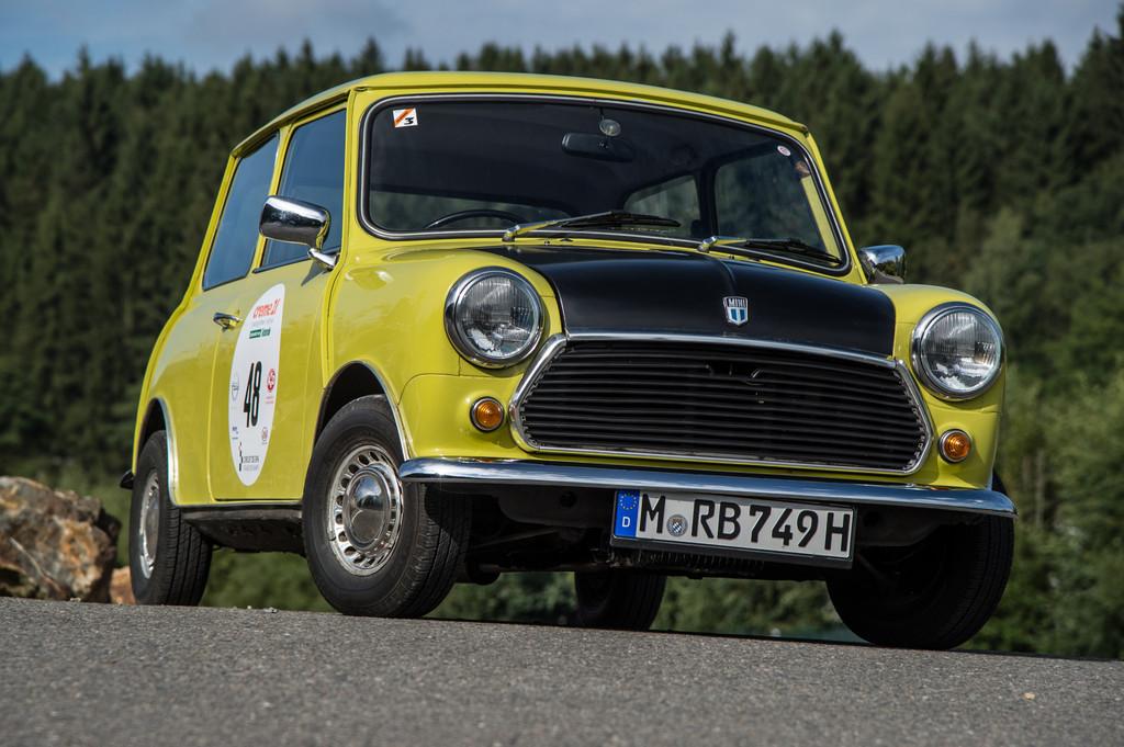 Mr. Beans Dienstwagen bei der Creme 21