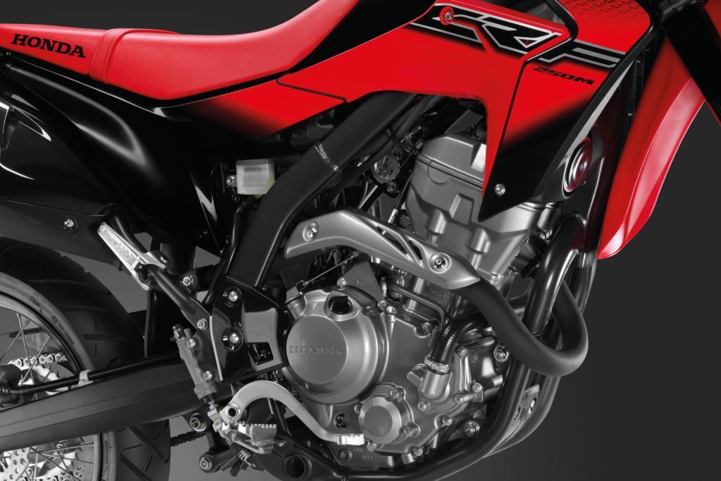 Neue 250-Kubik-Supermoto von Honda