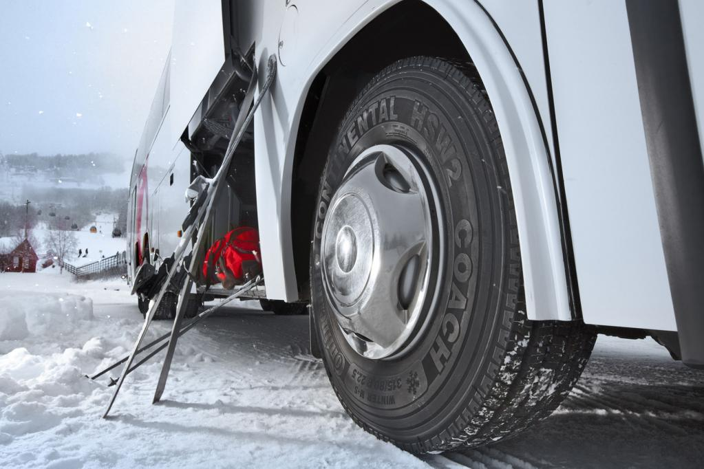 Neue Nutzfahrzeug-Reifen von Conti