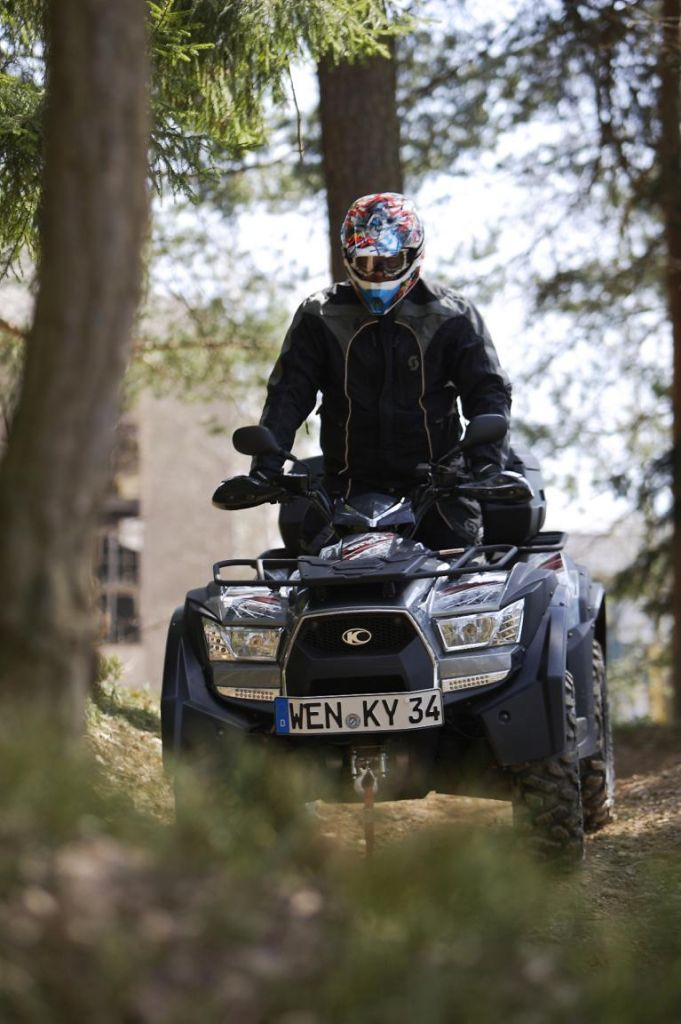 Neues Kymco-Quad: Allrad auf Acker und Autobahn