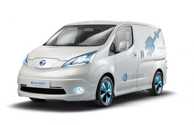 Nissan: Elektrotransporter e-NV200 kommt 2014