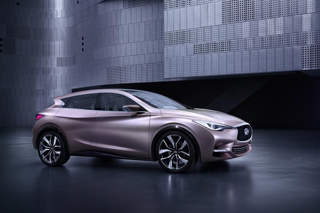 Nissans Nobeltochter präsentiert in Frankfurt die Studie eines Kompaktmodells. Der Q30 soll gegen Audi A3 und Mercedes A-Klasse antreten, schon 2014 könnte er kommen.