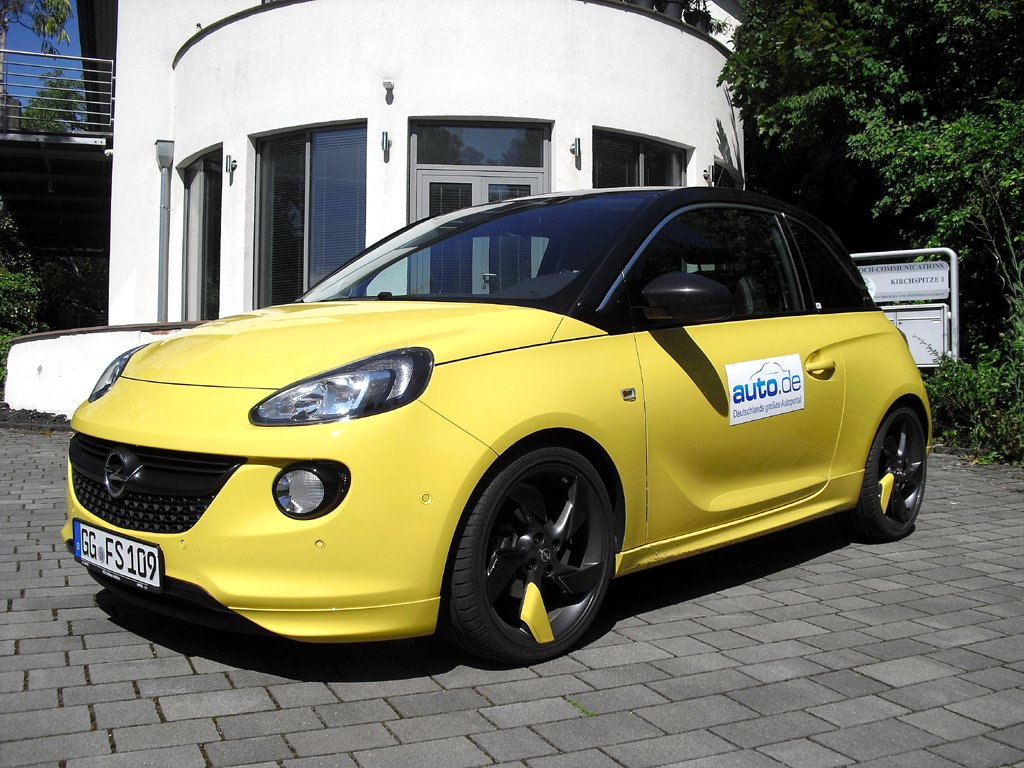 Opel Adam, hier als mittlerer Benziner mit 64/87 kW/PS.