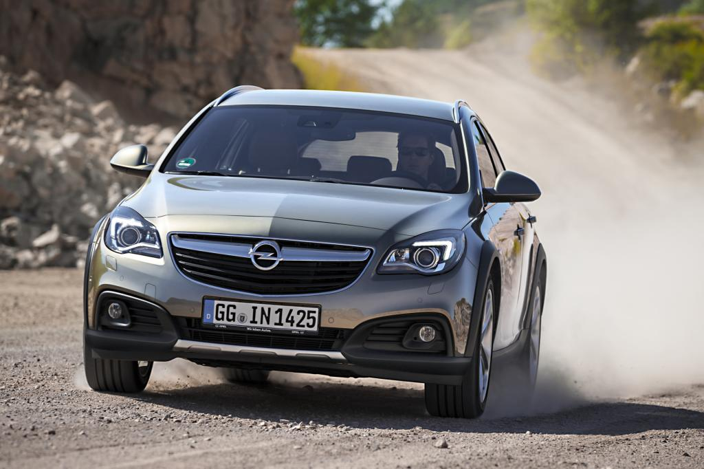 Opel hat dem Insignia ein Offroad-Kleid verpasst
