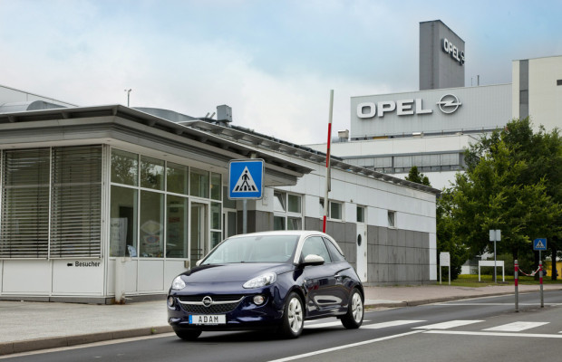 Opel investiert in Adam-Produktion