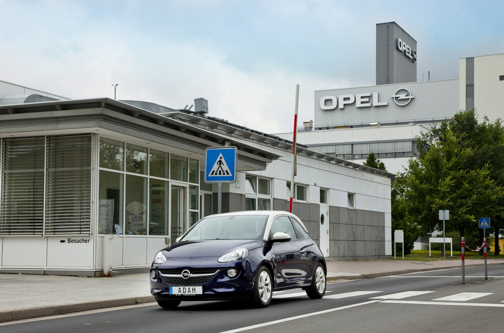Opel investiert in Adam-Produktion