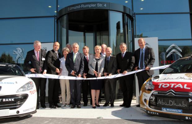 PSA eröffnet neue Deutschlandzentrale