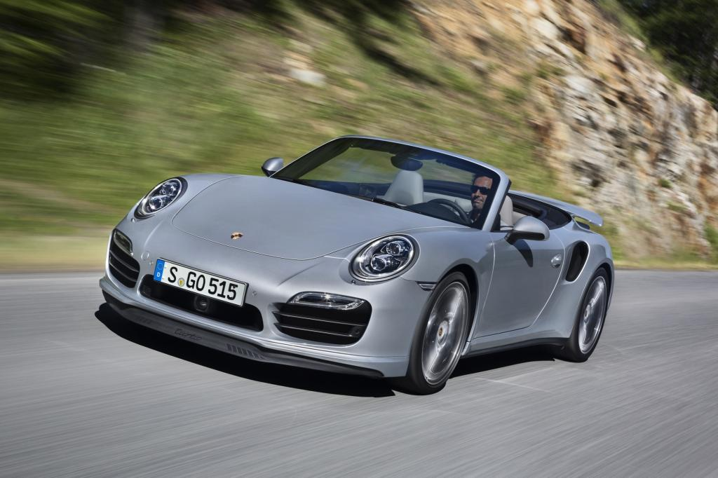 Porsche 911 Turbo Cabriolet - Mehr Luft für den Open-Air-Sportler