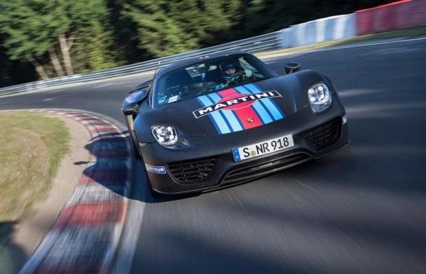 Porsche 918 fährt Nürburgring-Rundenrekord