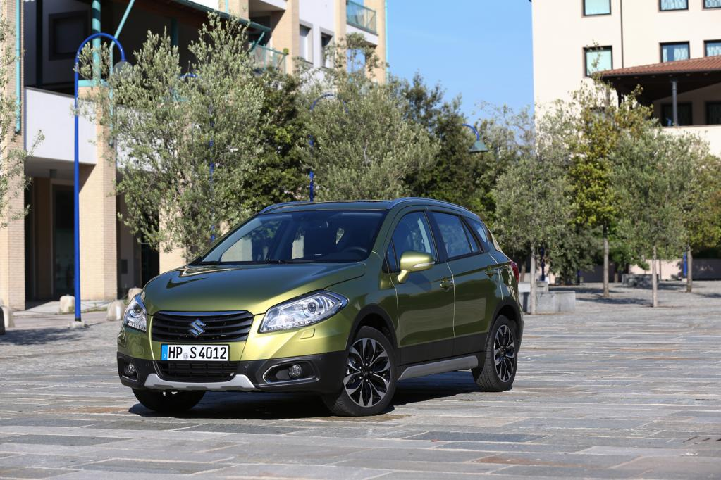 Produktion des Suzuki S-Cross in Ungarn gestartet