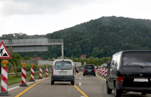 Recht: Kollision in der Autobahnbaustelle -  Geteilte Unfallkosten