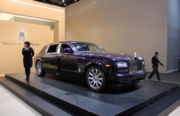Rolls-Royce auf der IAA: Umwelthilfe vermisst Energieeffienz-Angaben